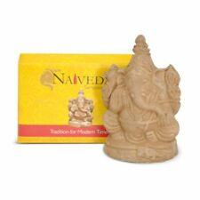 """3.5"""" Eco-Friendly Ganesh Idol Villianur Clay Best for Ganesh Chaturthi"""
