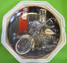"""Franklin Mint Harley Davidson """"Heritage Softail Classic"""" Coll. Plate Motorcycle"""