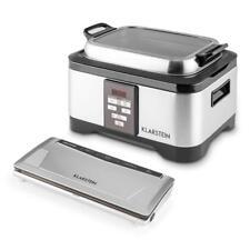 Klarstein Tastemaker FoodLocker Set cuiseur sous vide + machine+ 10 sachets