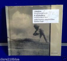 NEW SEALED  Brahms: String Quartet; Schoenberg: Verklärte Nacht (2013) CD & Book