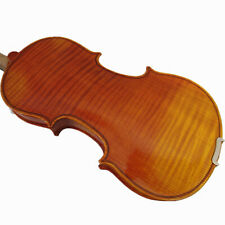 New 1/2 One piece flamed Back Violin+Bow+Rosin+String+Shoulder Rest +case #M221