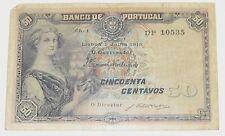 Banco De Portugal - 50 Centavos - July 1918