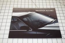 1988 Honda Accord Sales Brochure D6930