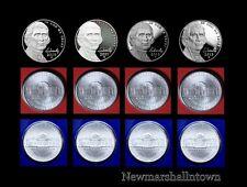 2010 2011 2012 2013 P+D+S Jefferson Nickel Mint Prood Set ~ PD in Mint Wrappers