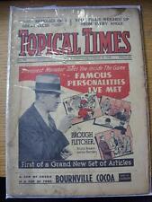 10/12/1938 Topical Times Magazine: No.0995) Inside: England's National Team  Gro