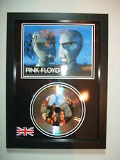PINK FLOYD  SIGNED   SILVER  DISC  NEW FRAME   DISPLAY 96