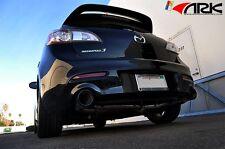 "ARK DT-S 3"" Exhaust System w/Burnt Tips 2010-ON Mazdaspeed 3 MZR Gen2 2.3L"