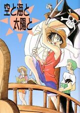 "ONE PIECE Doujinshi "" THE SKY , THE SEA , AND THE SUN "" Luffy Zoro Nami Shanks"