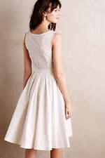 New Anthropologie Pleated Trellis Dress Sz 4 Size S NIP by Collette Dinnigan