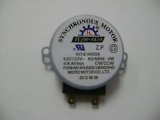 OEM MICROWAVE OVEN TYJ50-8A19 TRAY GLASS SYNCHRONOUS MOTOR 100/120 V 4/4.8 RPM