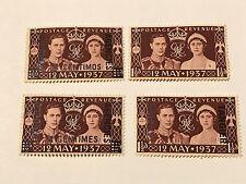 Tangier, Morocco, Great Britain 1937 Coronation  unused  h Lot (D03120)