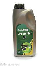 HANDY Log Splitter OLIO elevata viscosità olio idraulico 1ltr suits Benzina & ELECTRIC