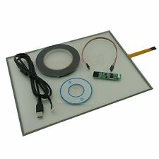 """USB Touch Screen Kit Set DIY Smart Panel Resistive Monitor For Dell 510 15"""" inch"""
