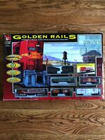 Life Like Trains Union Pacific Golden Rails HO Scale Train Set 38""