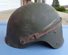 RARE WW2 WWII US EXPERIMENTAL T19E1 TANKER M1 HELMET LINER, M1, CRASH