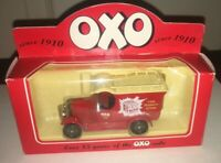 OXO VAN IN ORIGINAL BOX IN LOVELEY CONDITION. MADE AND PAINTED IN ENGLAND.