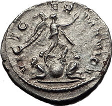 GALLIENUS 256AD Cologne VICTORY OVER GERMANY Ancient Silver Roman Coin i58543