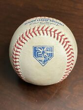 Rays 20th Anniversary Mlb Game Used Baseball Anderson (Single) Dietrich (K)