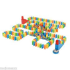 Toyrific Fun Domino Demolition Run Children Family Traditional Pub Games 200 Pcs