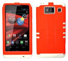 KoolKase Hybrid Cover Case for Motorola Droid Razr Maxx HD XT926m - Neon Orange