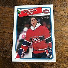 1988-89  O-Pee-Chee # 116 PATRICK ROY