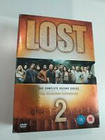Dvd  LOST THE COMPLETE SECOND SERIES (The extdnder experience)