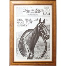 Horse Racing Will Par Lap Make Turf History? - The Sun Poster - Timber Frame