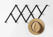 Hearth and Hand with Magnolia Black Wall Mount Coat Rack NEW