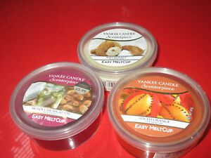 Yankee candle scenterpiece easy melt cup x 3 new