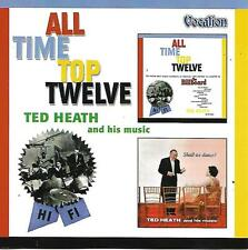 TED HEATH AND HIS MUSIC All time top twelve / Shall We Dance Vocalion CDLK 4115