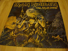 IRON MAIDEN - LIVE AFTER DEATH - 2 LP vinyl