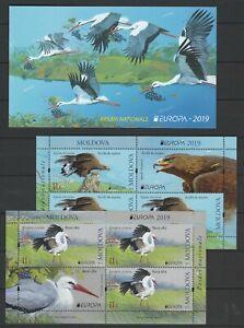 Moldova 2019 CEPT Europa Birds MNH Booklet