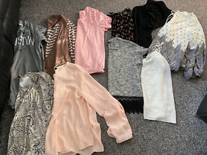 Large bundle of 20 tops Size 12 various brands