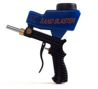 LEMATEC Air Sandblaster Gun AS118 Portable Sandblasting Rust Air Tool With Tip