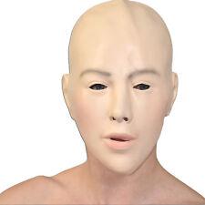Frauen MASKE mit realistischem Gesicht* weiches Schaumlatex* Fasching Halloween