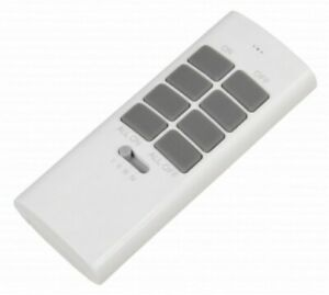 ET-12 Funk-Handsender Comfort bis zu 12 Empfänger 3-Kanäle McPower