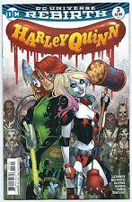 Harley Quinn 3 regular & variant 1st print ReBirth hot series Suicide Squad