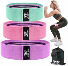 Woosl Resistance Bands for Legs and Butt,Walito Exercise Bands Hip Bands Wide