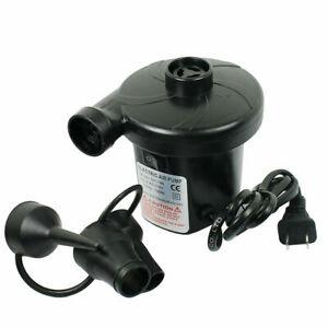 Electric Inflator Deflator Air Pump Toy Boat Air Bed Mattress Pool 150w 3800Pa