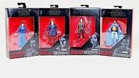 Star Wars The Black Series 3.75  Action Figures Walmart Exclusives Set Of 4 New
