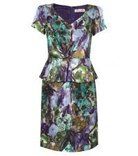 NWOT Alannah Hill 'Undercover Bridesmaid' Silk Peplum Dress - AU 8