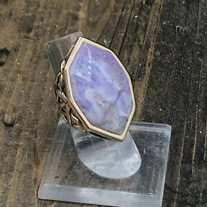 Barse Dyna Ring- Mexican Opal & Bronze-5.5-NWT
