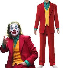 Adult Deluxe Joaquin Phoenix The Joker Arthur Fleck Cosplay Costume