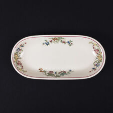 Bombay Pattern Celery Dish Old Ivory Restaurant Ware by OPCo Syracuse circa 1948