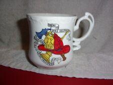 FIREMAN MUSTACHE CUP ~ ROYAL CROWN   # 2804