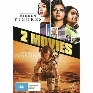 HIDDEN FIGURES / THE MARTIAN New 2 Dvd TARAJI P HENSON MATT DAMON ***
