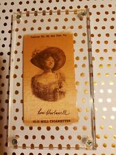 Vintage Silk Cigarette Cards Ephemera attractive ladies tobacciana cards/Antique
