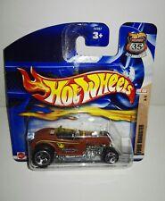 2002 hot wheels 109 Hot Rod Ford Roadster 3/4 Short Card