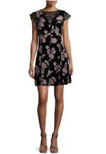 Nanette nanette Lepore Burnout Velvet Lace-Combo Dress. Size 8. $169.00.