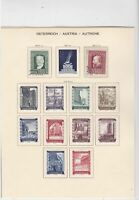 austria 1948 mounted mint+ used stamps  ref 10652